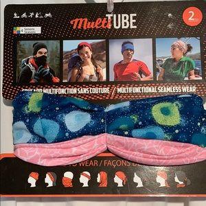 2pack multi tube face cover